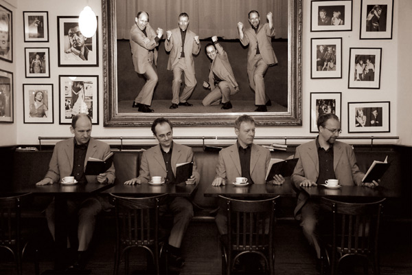 Swingensemble rockt das Schloss: Café Brunette